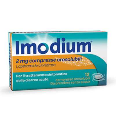 *Imodium 12cpr orosolubili