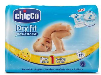 CH DRY FIT ADVANCE NEW BORN27P