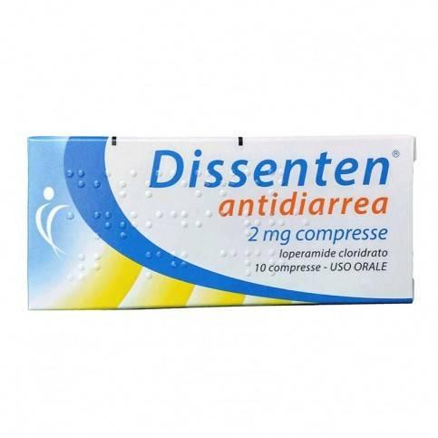 DISSENTEN ANTIDIARREA*10CPR2MG