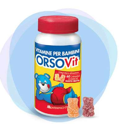 Orsovit 60 caramelle gommose