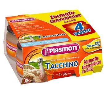 PLASMON OMOG TACCHINO 4X80G