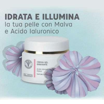 Crema gel idratante malva ed acido ialuronico 30ml