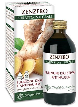 ZENZERO ESTRATTO INTEGR 200ML