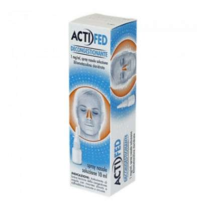 Actifed spray nasale