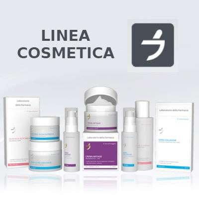 Laboratorio della farmacia linea cosmetica