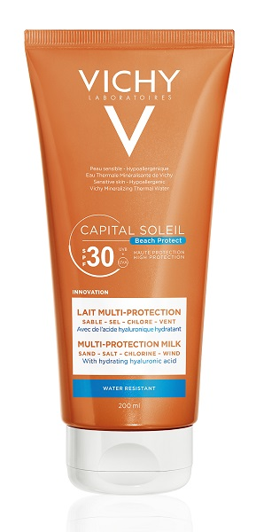 VICHY CAPITAIL SOLEIL BEACH PROTECT LATTE SPF30 200ML