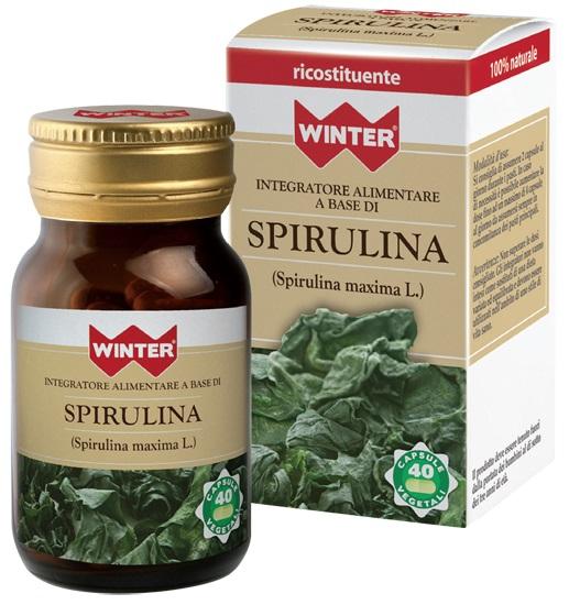 WINTER SPIRULINA 40CPS VEG