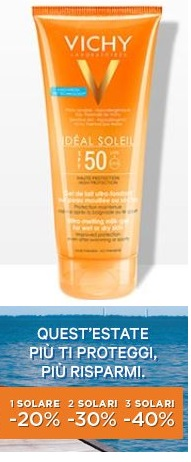 VICHY IDEAL SOLEIL GEL WET SKIN SPF50+  200ML