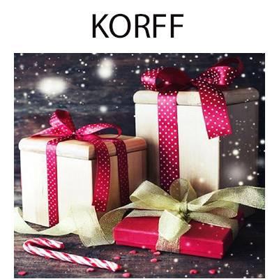 Korff Cofanetti regalo SCONTO 20%