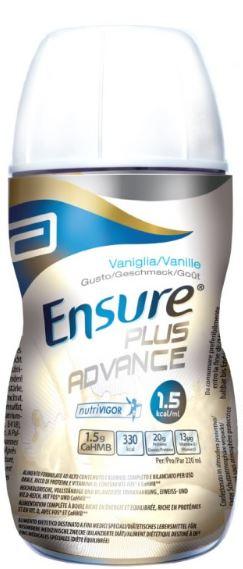 ENSURE PLUS ADVANCE VAN4X220ML