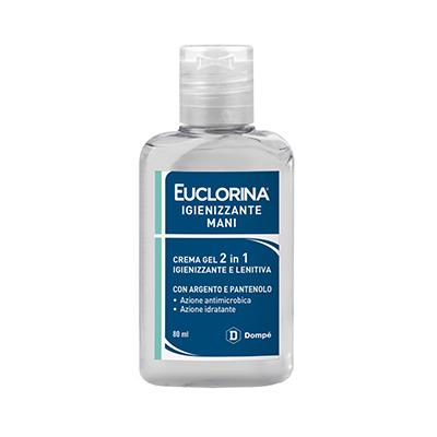 Euclorina gel 2 in 1 disinfettante ed idratante mani