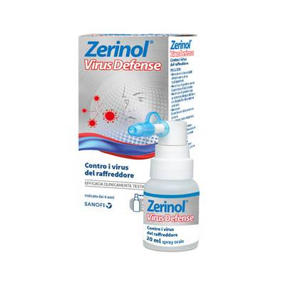 ZERINOL VIRUS DEFENSE SPRAY ORALE