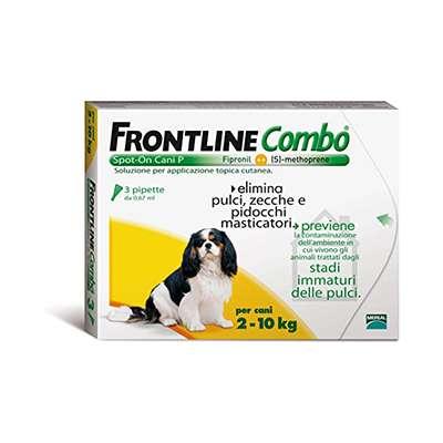 FRONTLINE COMBO SPOTON CANI TG PICCOLA 3PIPETTE
