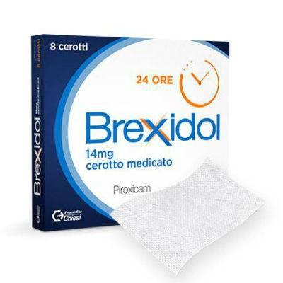 Brexidol 8 cerotti