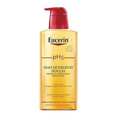 Eucerin olio detergente doccia 400ml