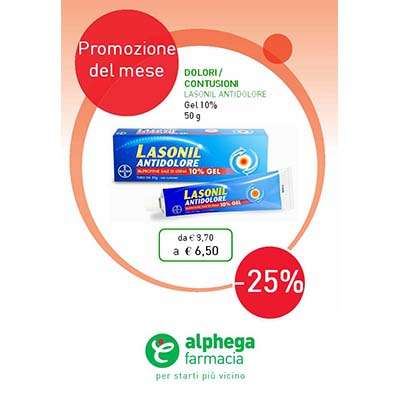 Lasonil Antidolore gel - 50g