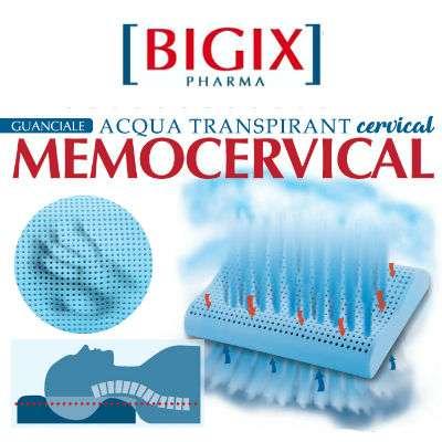 Bigix cuscino cervicale a doppia azione