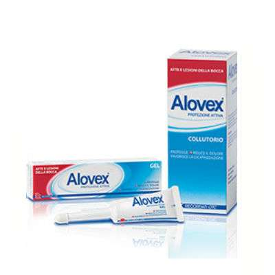 Alovex gel 8ml/collutorio 120ml
