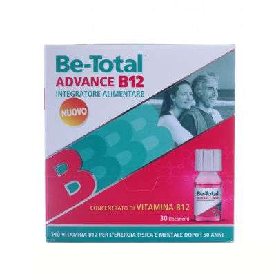 Be-total advance 30 flaconcini