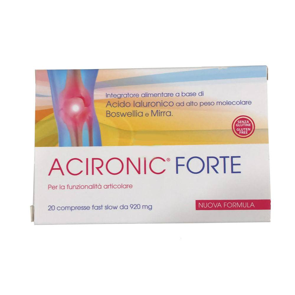 ACIRONIC FORTE 20CPR FAST-SLOW