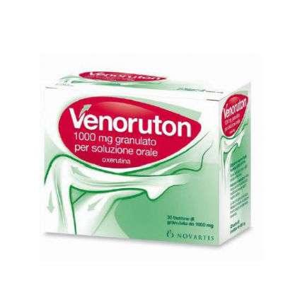 Venoruton 30 buste - 1000 mg granulato