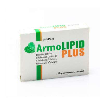 ARMOLIPID PLUS 20CPR - 2PZ