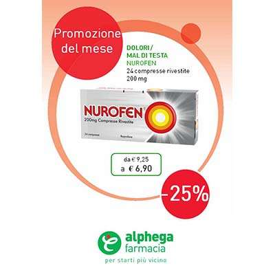 Nurofen 24cpr rivestite - 200mg
