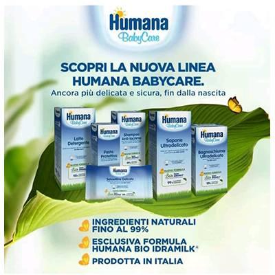 Humana Baby Care linea Biologica al 99%