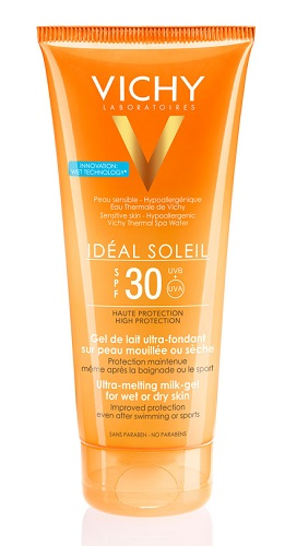 VICHY IDEAL SOLEIL GEL WET CERMA CORPO PELLE BAGNATA SPF30 200ML