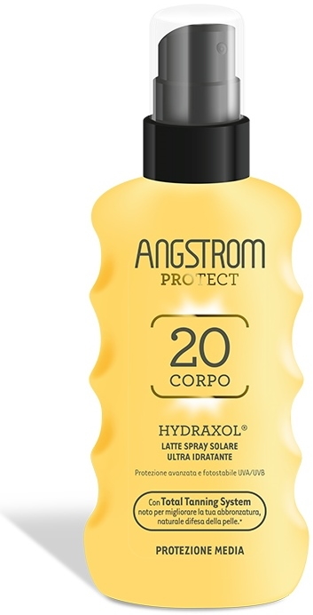 ANGSTROM HYDRAXOL LATTE SOLARE SPRAY SPF20 175ML