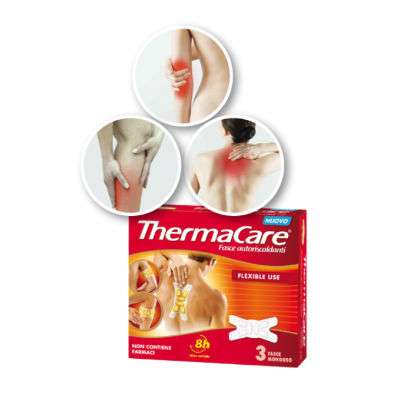 ThermaCare versatile 3 fasce monouso
