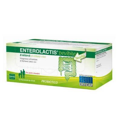 Enterolactis 12 flaconcini con OMAGGIO per Bimbi