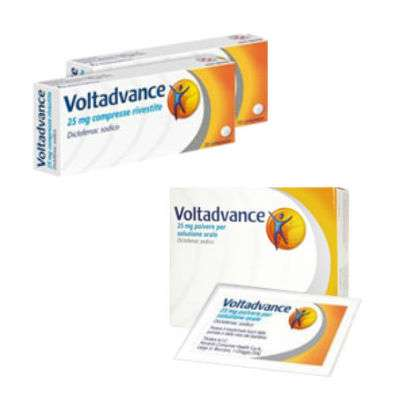 Voltadvance 20cpr - 20bst