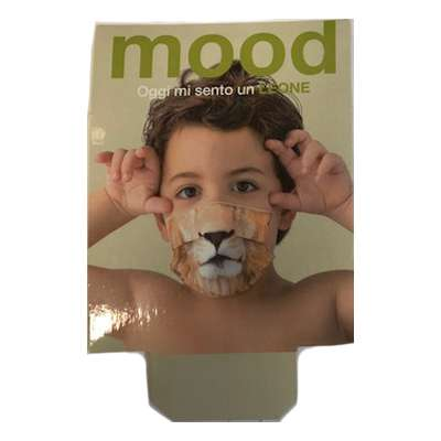 Mascherine lavabili per bambini - leone