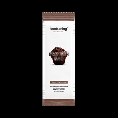 Foodspring Barette proteiche extra cioccolato e frutta