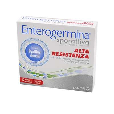 Enterogermina sporattiva alta resistenza 12bst