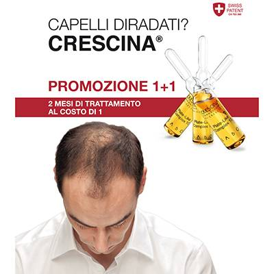 CRESCINA 1+1 fino al 15/05/2021
