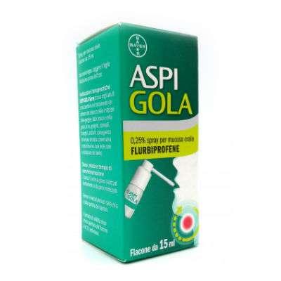 Aspigola Spray 0,25% 15 ml