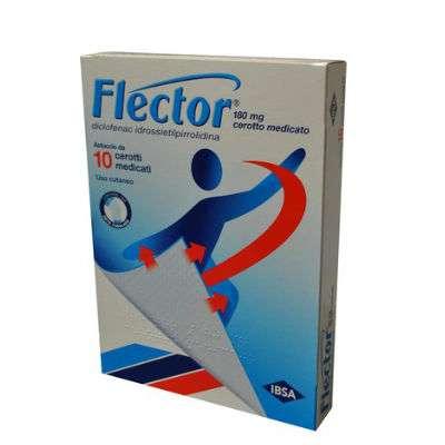 FLECTOR 180MG 10 CEROTTI