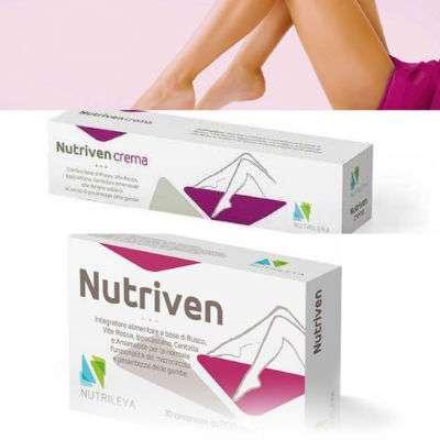 Nutriven integratore +  Nutriven crema gambe