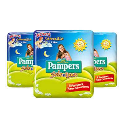 Pampers Sole Luna pacco triplo