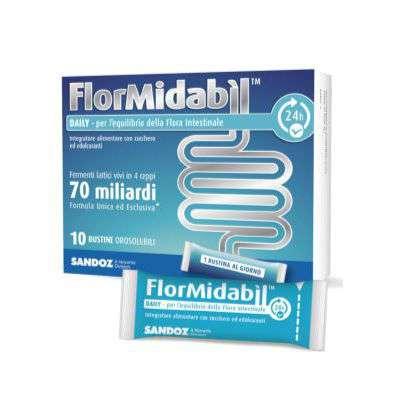 Flormidabil Daily con stevia Sandoz 10 bustine