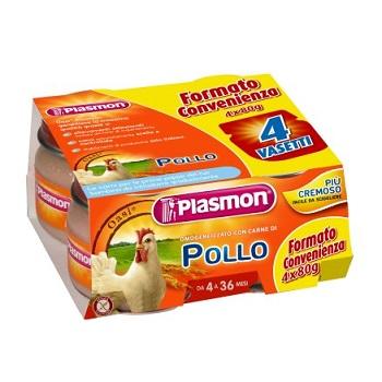 PLASMON OMOG POLLO 4X80G