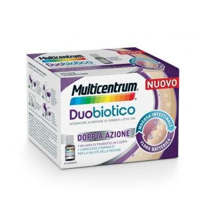 Multicentrum Duobiotico - 8 flaconcini