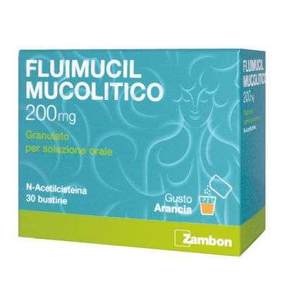 Fluimucil 200 30bs