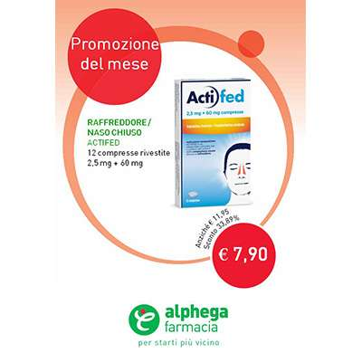 ACTIFED COMPRESSE - 12cpr