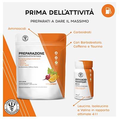 LFP DynaSprint Preparazione/ Aminoacidi Ramificati 4:1:1