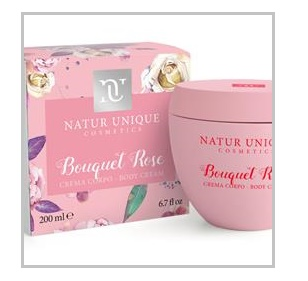 NATUR UNIQUE CREMA CORPO BOUQUET ROSE 200ML