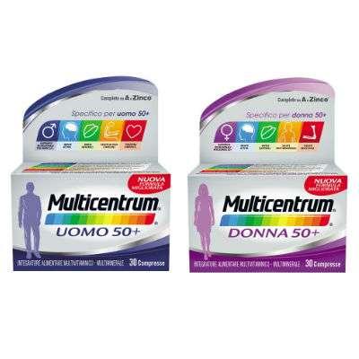 Multicentrum 30cpr uomo 50+/donna 50+