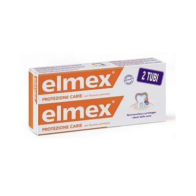 Elmex Protezione Carie 2 tubi da 75ml